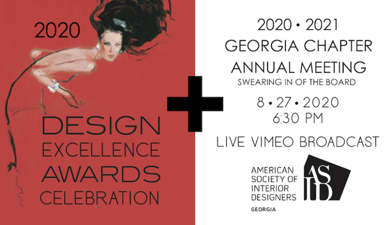 CELEBRATION | 2020 DESIGN EXCELLENCE AWARDS + ANNUAL MEETING